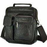 Кожаный мессенджер Бесплатная доставка сумка через плечо NM24-725C