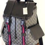 Мужской кожаный рюкзак Gucci