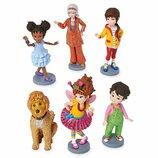 Disney Игровой набор с фигурками Необычная Нэнси Fancy Nancy Figurine Playset