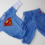 H&M. Спортивный костюм 62 - 68 размер на 2-4-6 месяцев. С бодиком.