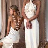 Новиночки Классное платье в пол, размеры 42-44
