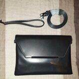 Шикарная новая лаковая сумка фирмы SMH