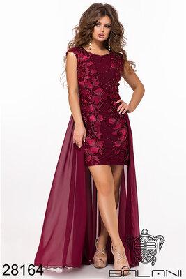 9da1a94b0e7c1be Вечернее выпускное женское платье вышивка по сетке: 815 грн ...