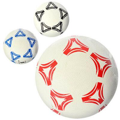 Мяч футбольный Grain 0022 размер 5 3 цвета, резина