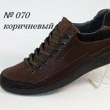 Туфли мужские кожа Cardio 070 Olive 41-43