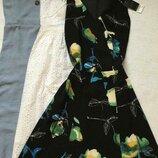 Платье в цветы next 8 размер