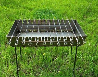 Мангал чемодан на 12 шампуров УК-М12
