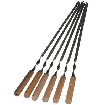 Шампура с деревянной ручкой Стенсон УК-Ш60Д