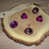 Колокольчик Фиолетовый 2 см 5 шт