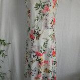 Нежное платье с цветочным принитом John Rocha 16p