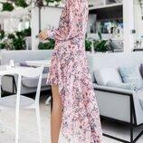 Красивое легкое платье Николь две расцветки