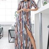 Легкое платье рубашка Керри