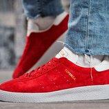 Кроссовки Adidas, замша натуральная, стелька 23,5 и 24 см, унисекс , скидка на последние пары