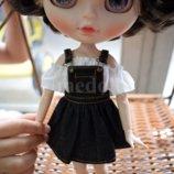 Комбинезон для Блайз. 1 шт. 4 цвета. Для Blyth, Azone, Licca, кукол Барби. Одежда для кукол.