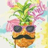 Картина по номерам. Цветы Smile 40 40см KHO2936
