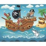 Роспись по холсту. Пиратское приключение 25 30 7140