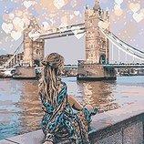Картина по номерам. Люди Романтичный Лондон 40 50см KHO4574