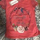 Турецкая футболка с кружевным рукавом на девочек 7-12 лет