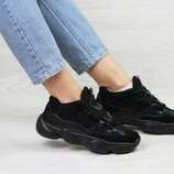 Кроссовки женские Adidas Yeezy 500 black