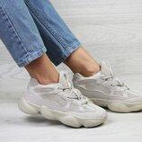 Кроссовки женские Adidas Yeezy 500 beige 36-41р
