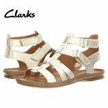 Кожаные сандалии босоножки гладиаторы Clarks 9US 40 EU