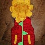 Желетка жилетка квіточка для дівчинки 2 роки
