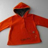 C&A. baby club. Флисовая кофта с капюшоном, 80 размер