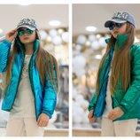 Подростковая Двухсторонняя куртка,Р-ры 128-134,140-146,146-152,152-158,158-164, 164-170