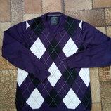 Мужской пуловер ромбик C&A Германия