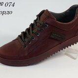 Туфли кожаные Cardio 074 Burgund 41-43 р.,13