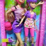 Кукла Defa Lucy 8130 с дочкой, на роликах