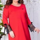 Платье кружево французское 50-52 , 54-56