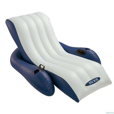Надувное кресло-шезлонг 58868 Intex