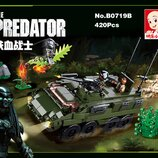 Конструктор SLUBANM38-B0719B Охота на хищника 420 деталей