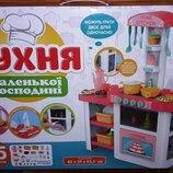 Кухня 889-63-64 свет, звук, течет вода, 62,5-41-76,5 см, 55 предметов