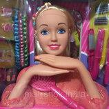 Кукла Манекен для причесок Defa Lacy 8415, с подвижными руками волос длинный