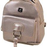 Женский рюкзак серебро. Размер 28 25 15. Детский портфель. Женская сумка Alex Rai
