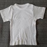 Отличные белые футболочки Dunnes Stores мальчикам из Англии