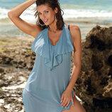 Пляжное платье туника 10 расцветок марко Erin M-515