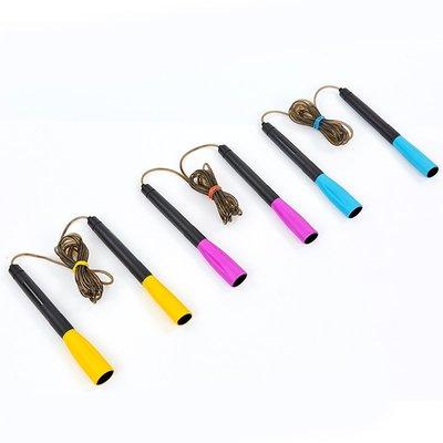 Скакалка скоростная с подшипником и PVC жгутом 8295 длина 2,6м микс цветов