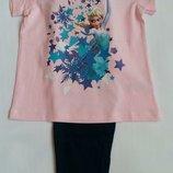 Пижама/домашний костюм Frozen тм Disney на 2-6 лет