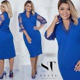 Новиночки Классное платье, размеры 48- 54