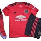 Футбольная форма Манчестер Юнайтед сезон 2019/20 Гетры Манчестер Юнайтед