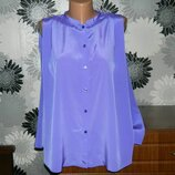 H&M блуза фиолетовая XL 16 18 50 52