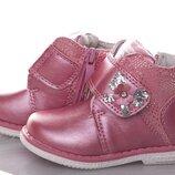 Демисезонные ботинки тм clibee рр. 20, 21, 22, 23, 24, 25 для девочек