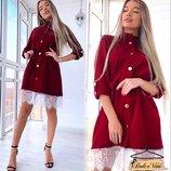 Нежное, стильное платье 42 - 46 разные расцветки