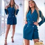 Нежное, стильное платье 42 - 44 разные расцветки