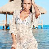 кружевная туника Пляжное платье