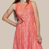 Кружевное нарядное выпускное платье f&f