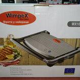 Электрический прижимной гриль WimpeX WX1060 барбекю-электрогриль 1200W